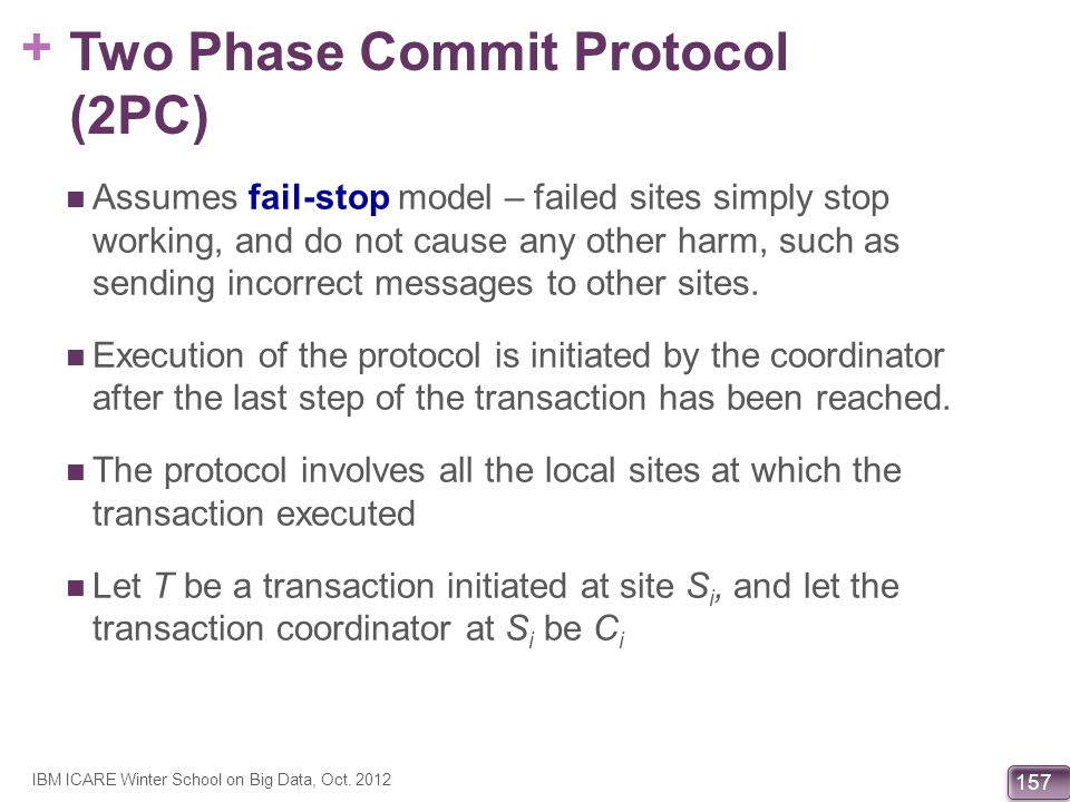 Two Phase Commit Protocol (2PC)