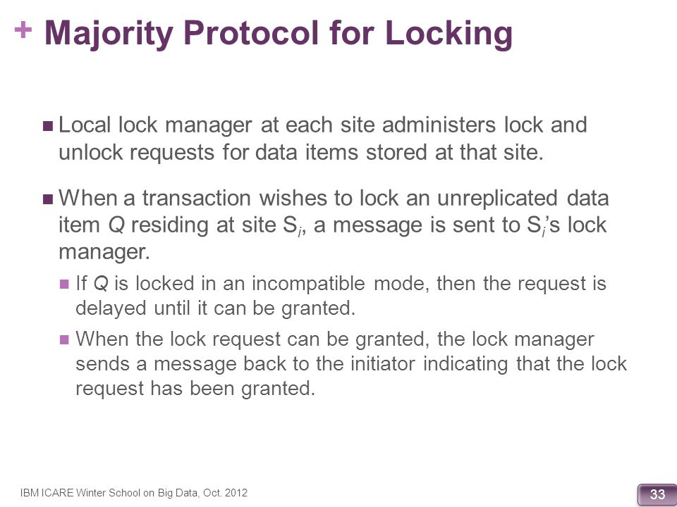 Majority Protocol for Locking
