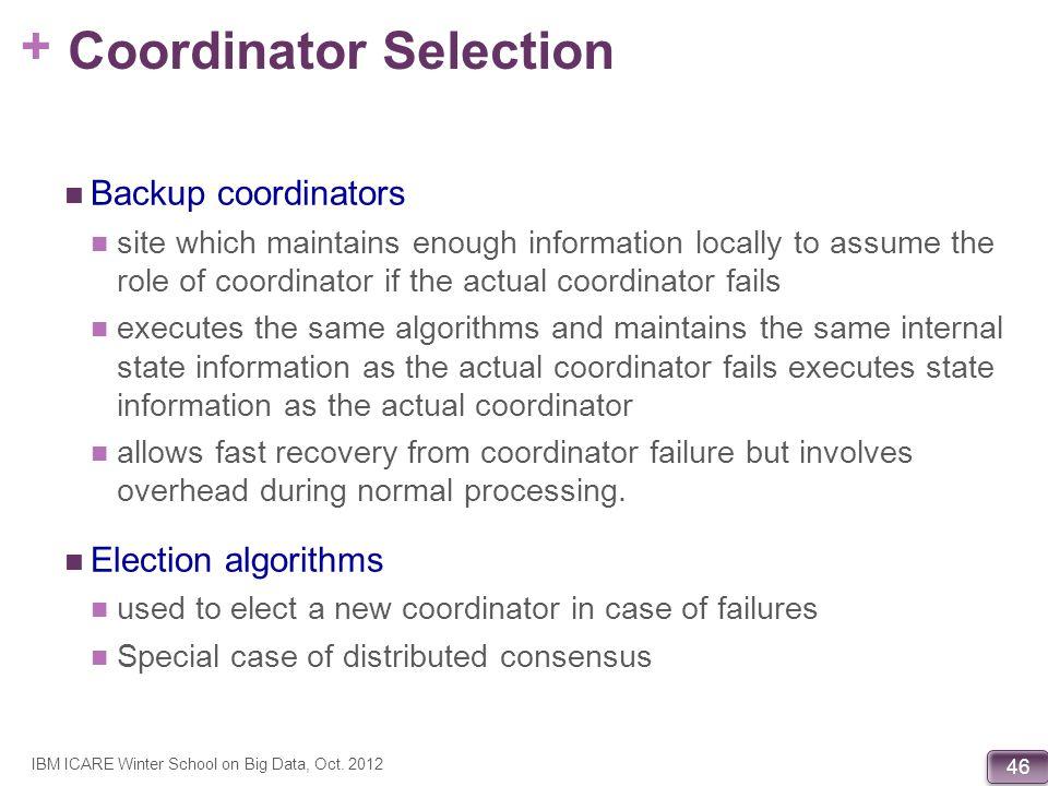 Coordinator Selection