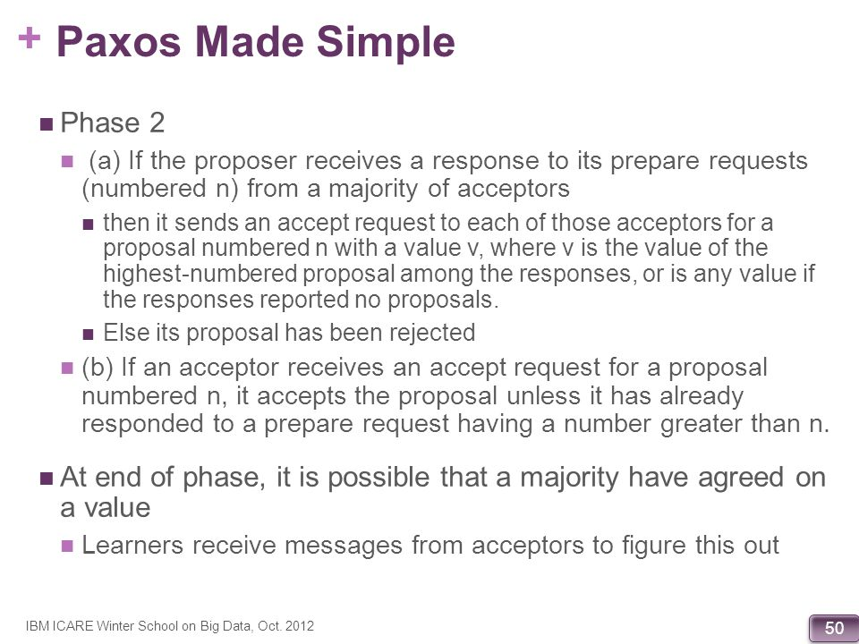 Paxos Made Simple Phase 2