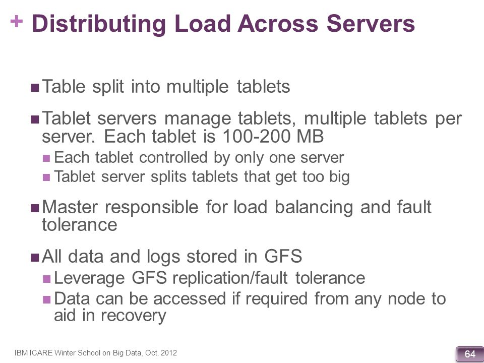 Distributing Load Across Servers