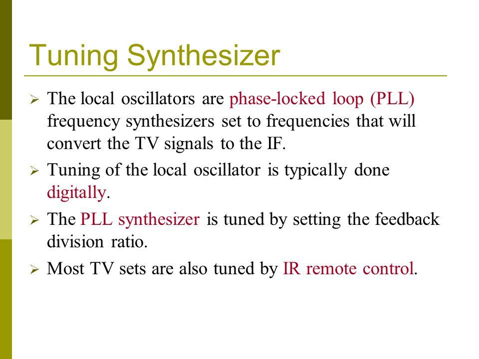 Tuning Synthesizer
