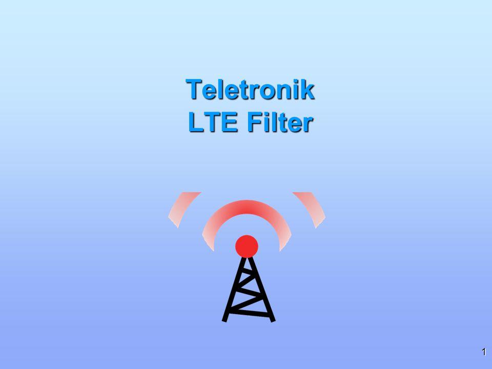 Teletronik LTE Filter
