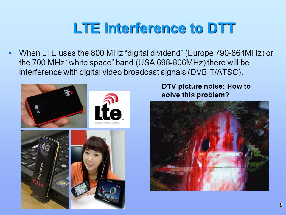 LTE Interference to DTT