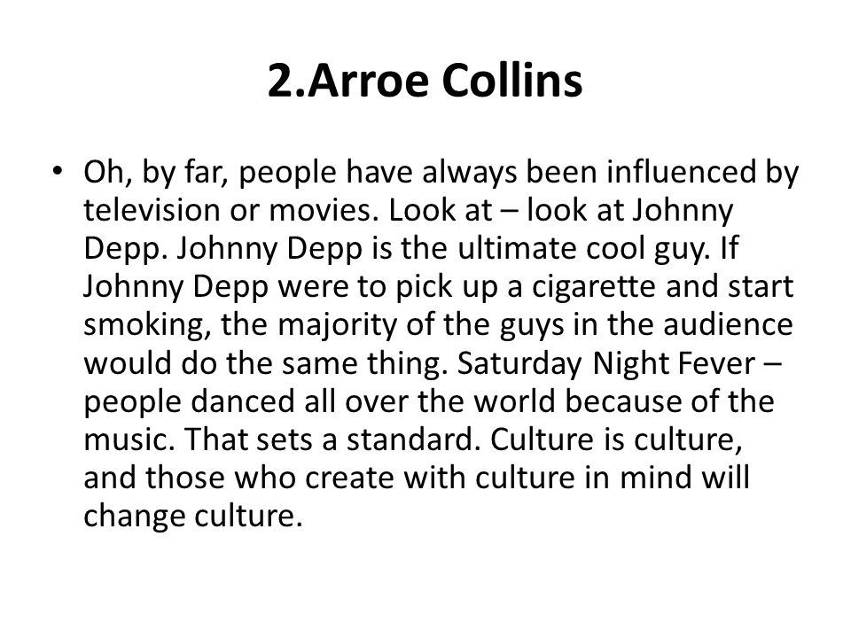 2.Arroe Collins