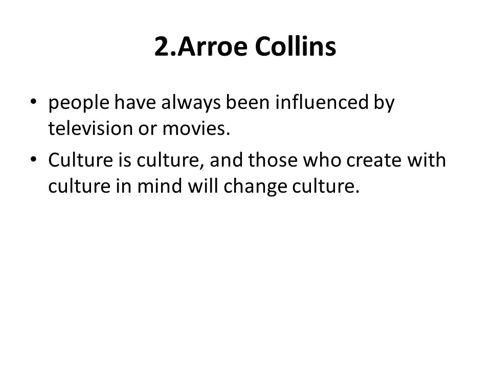 How Do Movies or Television Influence People's Behavior Essay