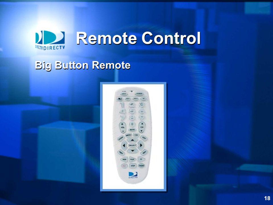 Remote Control Big Button Remote