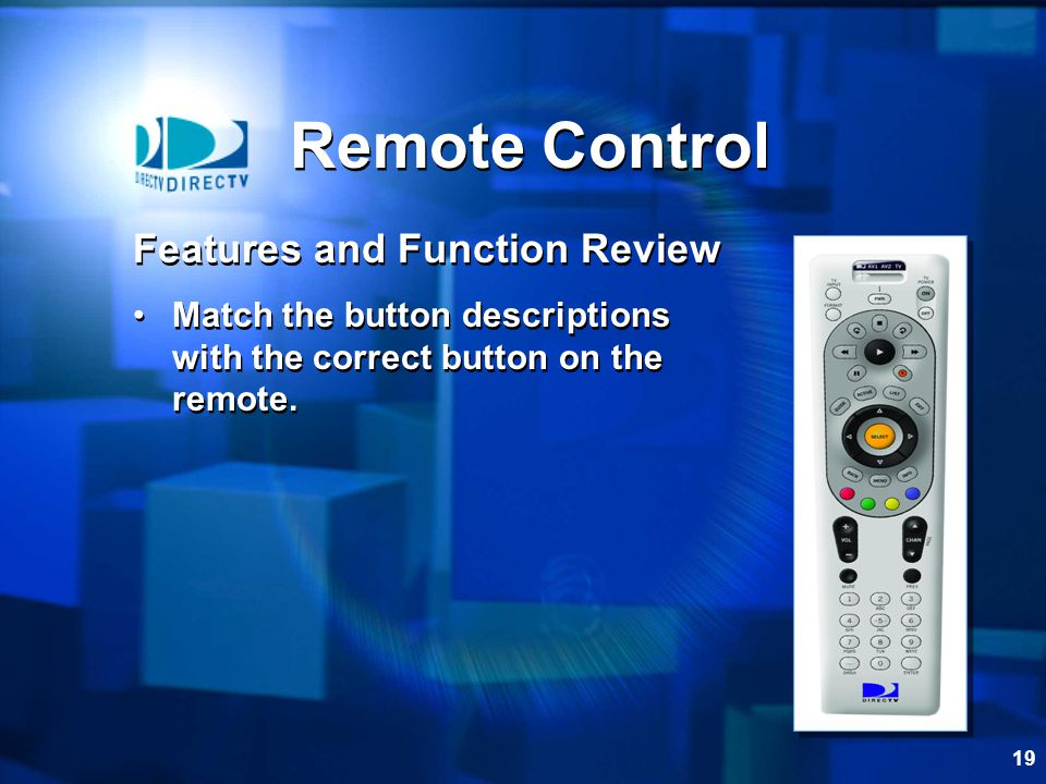 Remote Control Features and Function Review