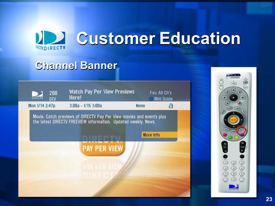 Customer Education Channel Banner