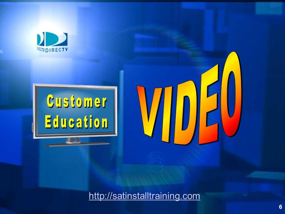 VIDEO Customer Education http://satinstalltraining.com