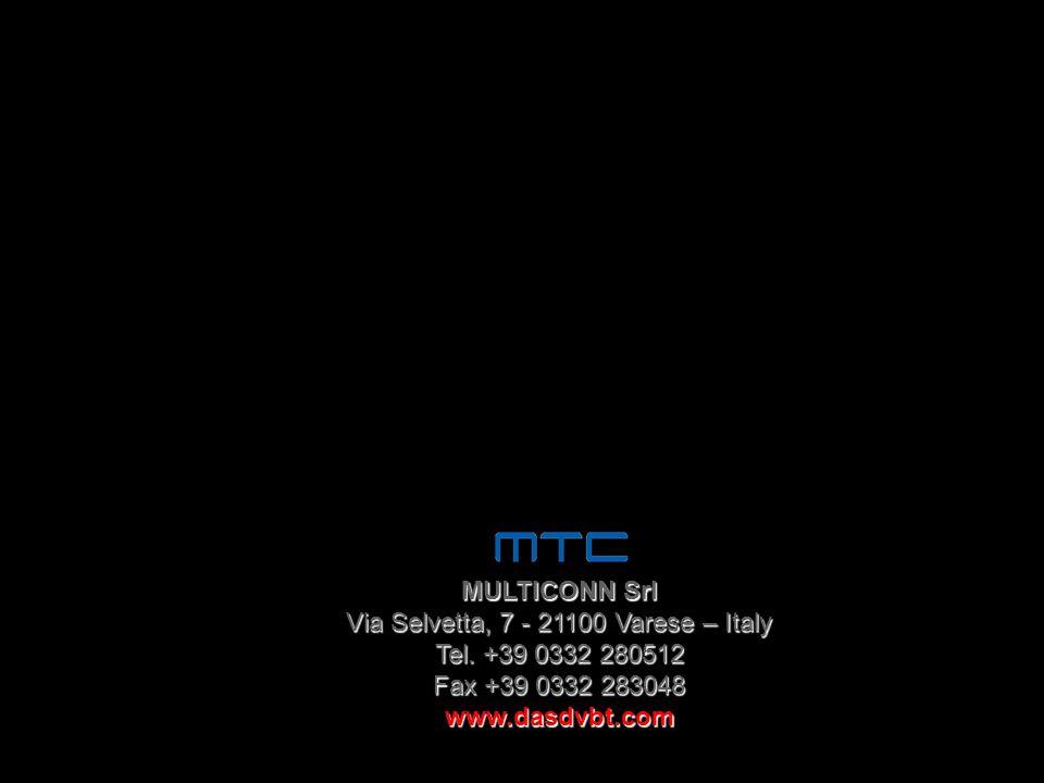 Via Selvetta, 7 - 21100 Varese – Italy