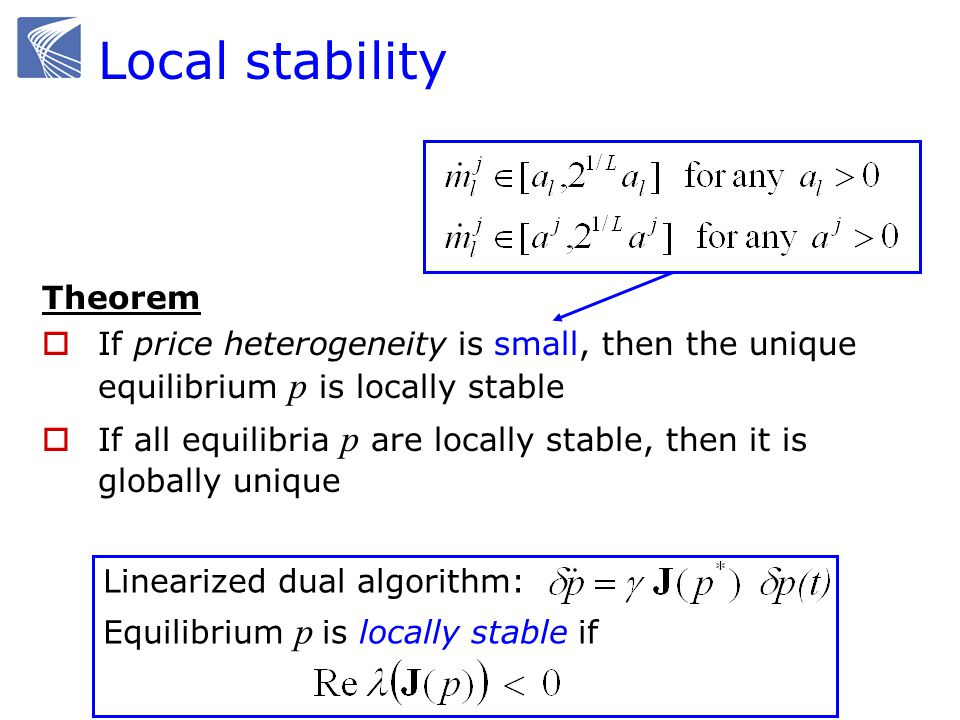 Local stability Theorem