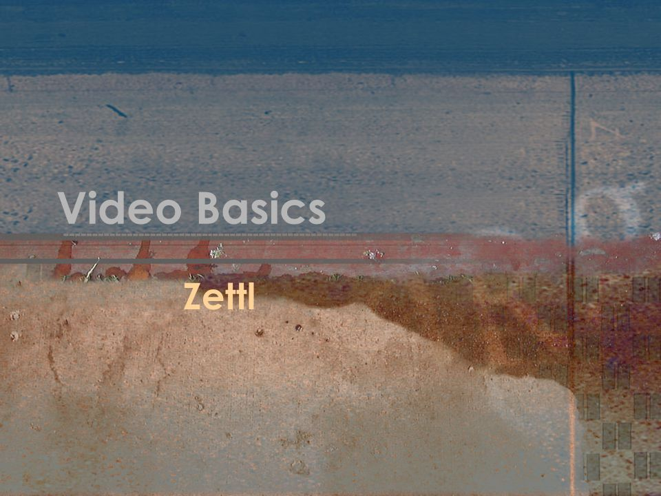 Video Basics Zettl