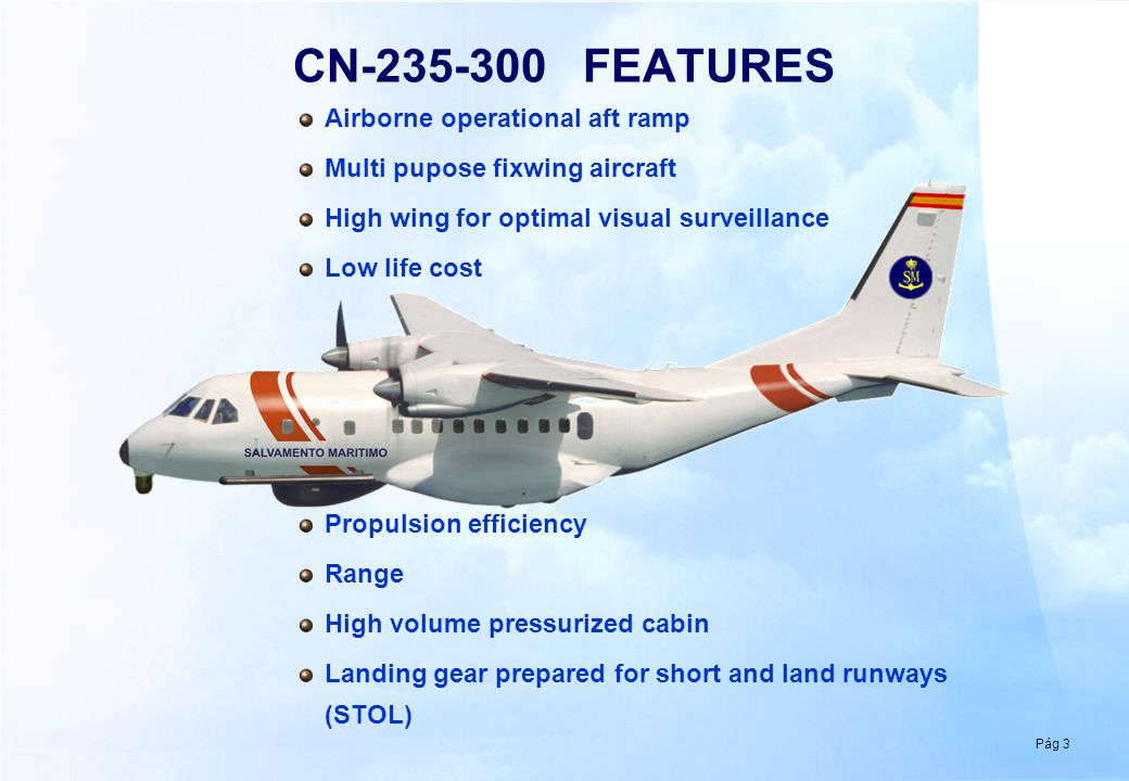 CN-235-300: VIEWS AND WEIGHTS