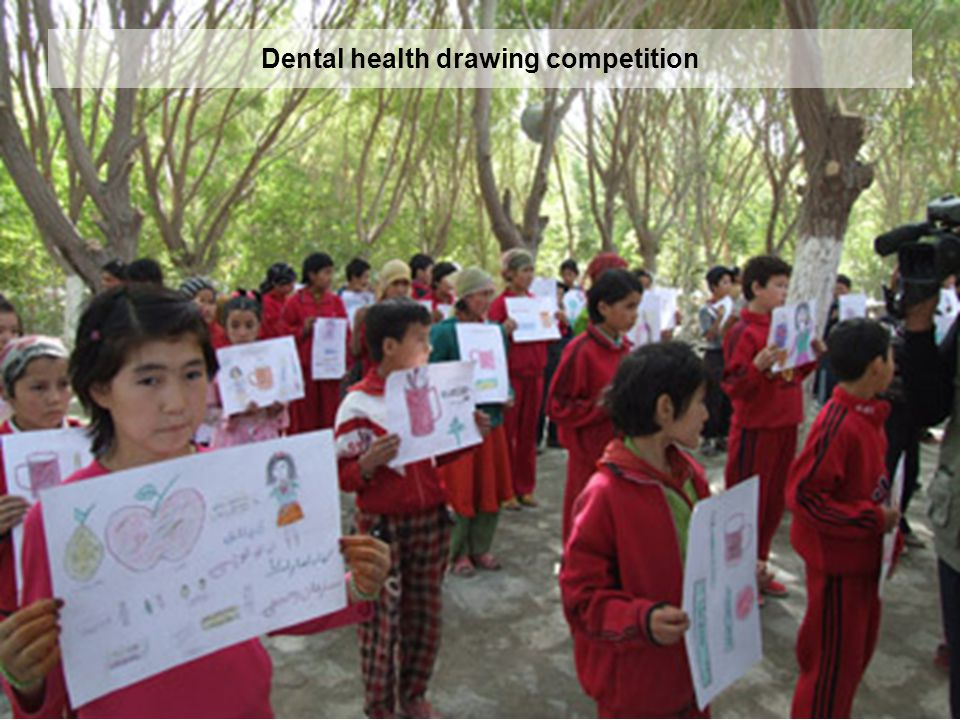 Dental health drawing competition