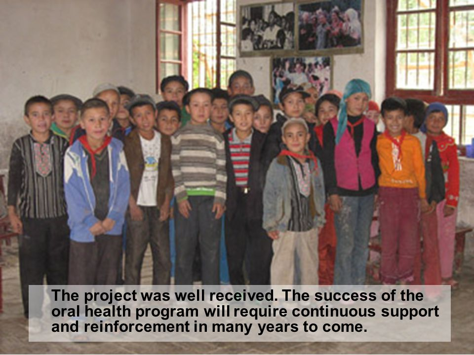 The project was well received