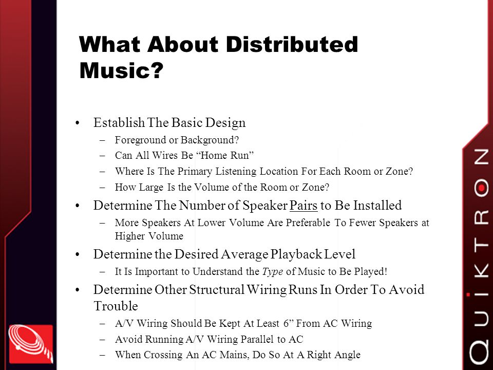 What About Distributed Music
