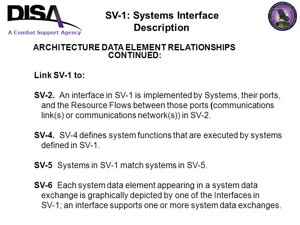 SV-1: Systems Interface