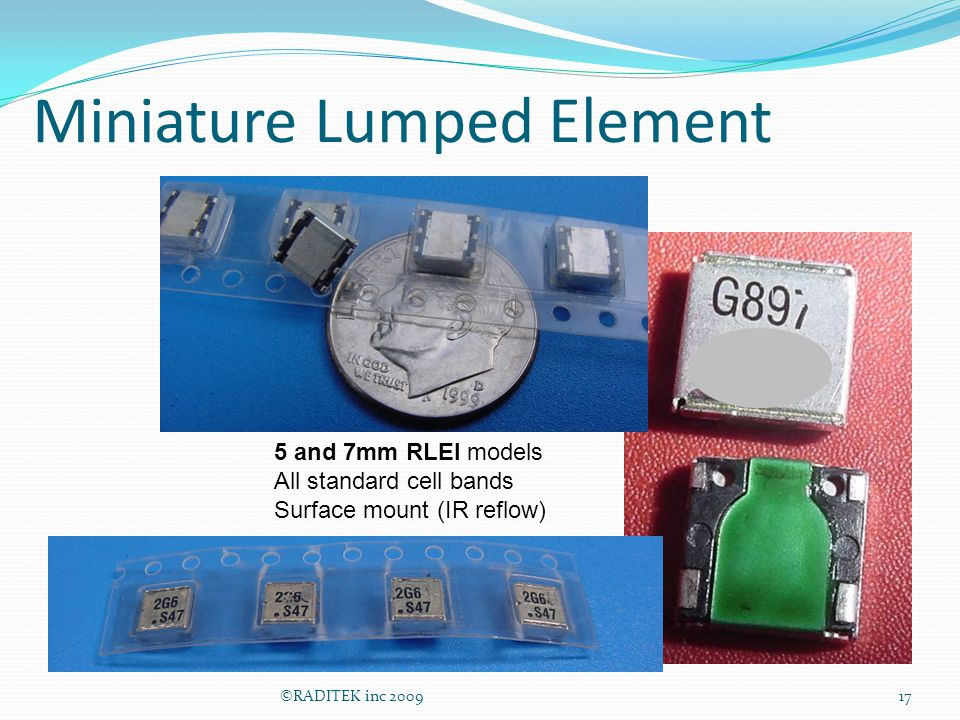 Miniature Lumped Element