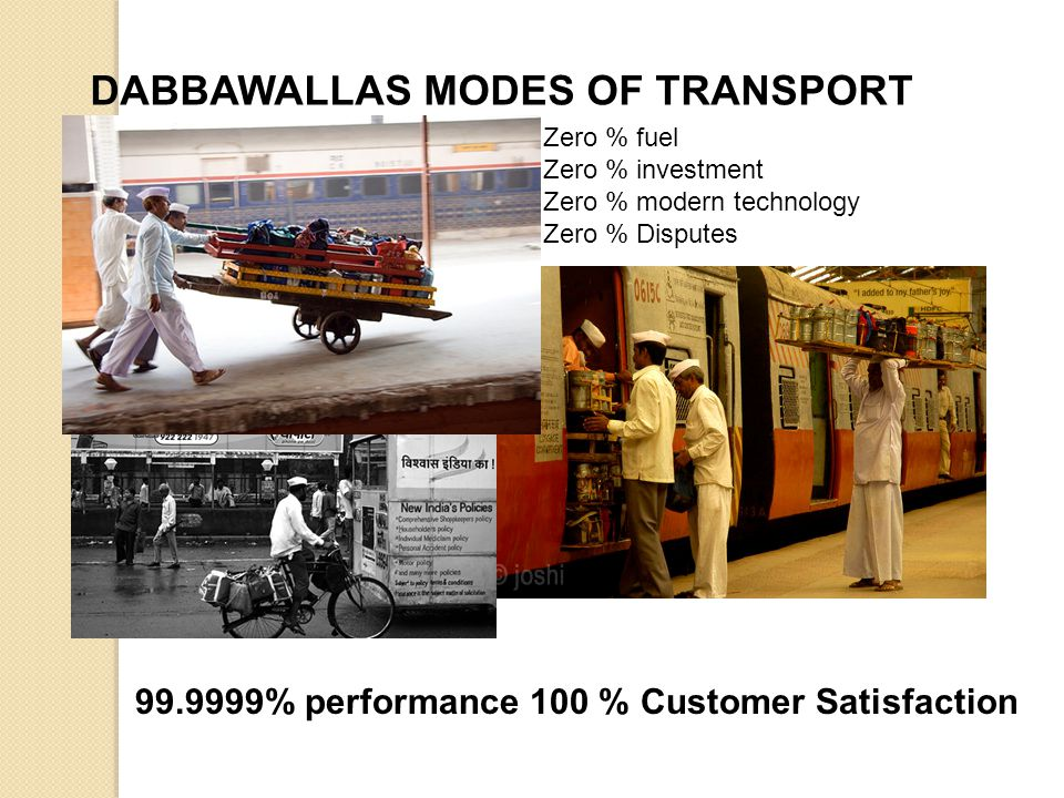 DABBAWALLAS MODES OF TRANSPORT