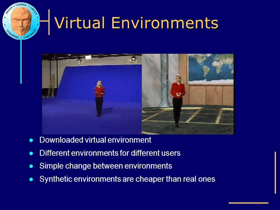 Virtual Environments Downloaded virtual environment