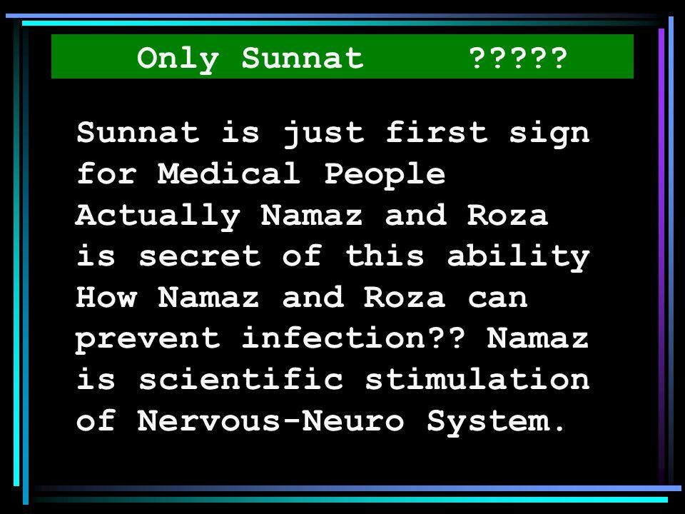 Only Sunnat