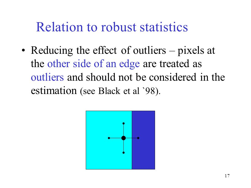 Relation to robust statistics