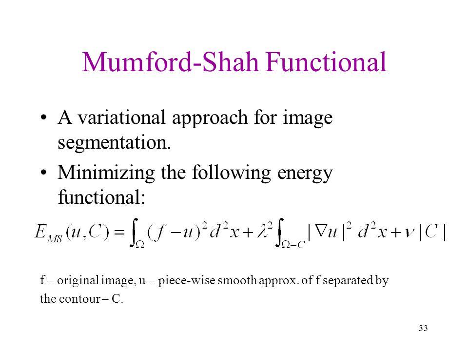 Mumford-Shah Functional