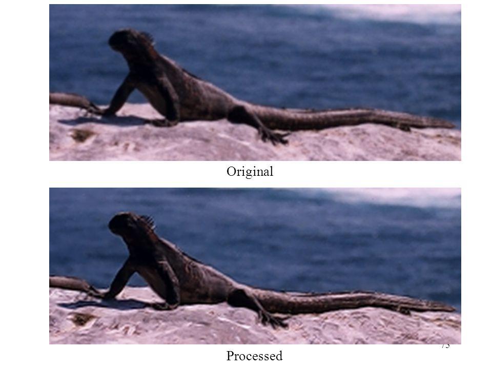 Original Processed