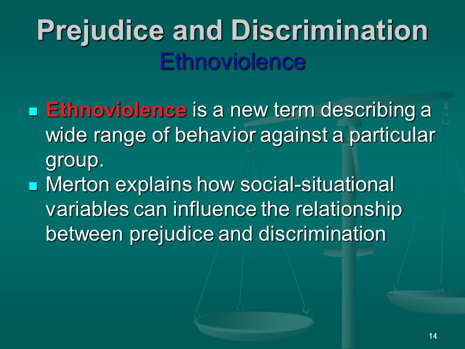 prejudice and discrimination india Excerpted from: racial discrimination: the mexican record , executive summary, 1-20, 2-5 (sept fox appointed an otomi indian, xochiti gaivez ruiz.