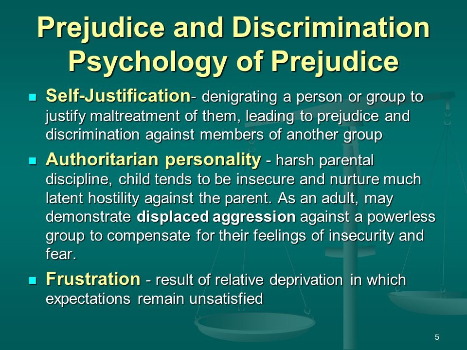 discrimination in society essay