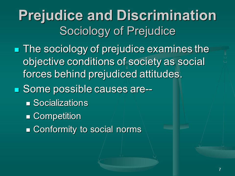 prejudice and discrimination So far, we've discussed stereotypes, prejudice, and discrimination as negative thoughts, feelings, and behaviors because these are typically the most problematic.