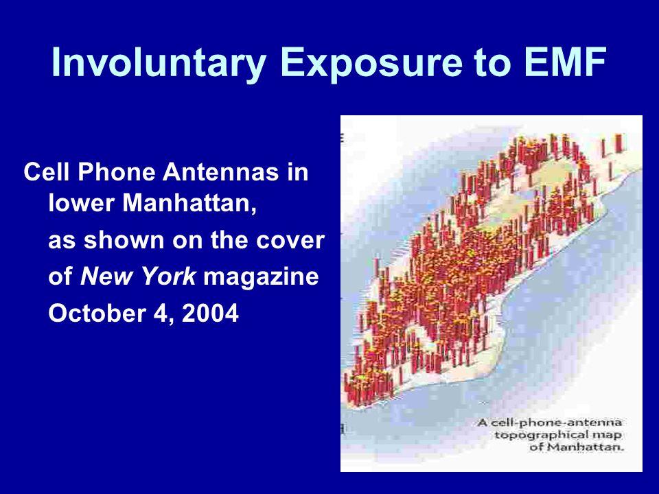 Involuntary Exposure to EMF