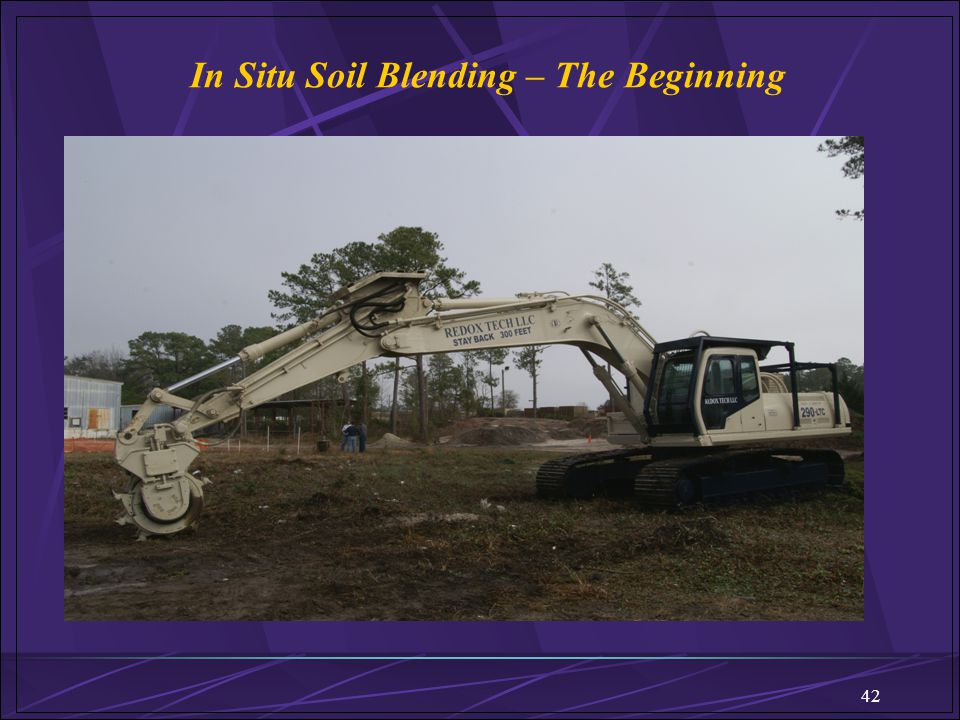 In Situ Soil Blending – The Beginning