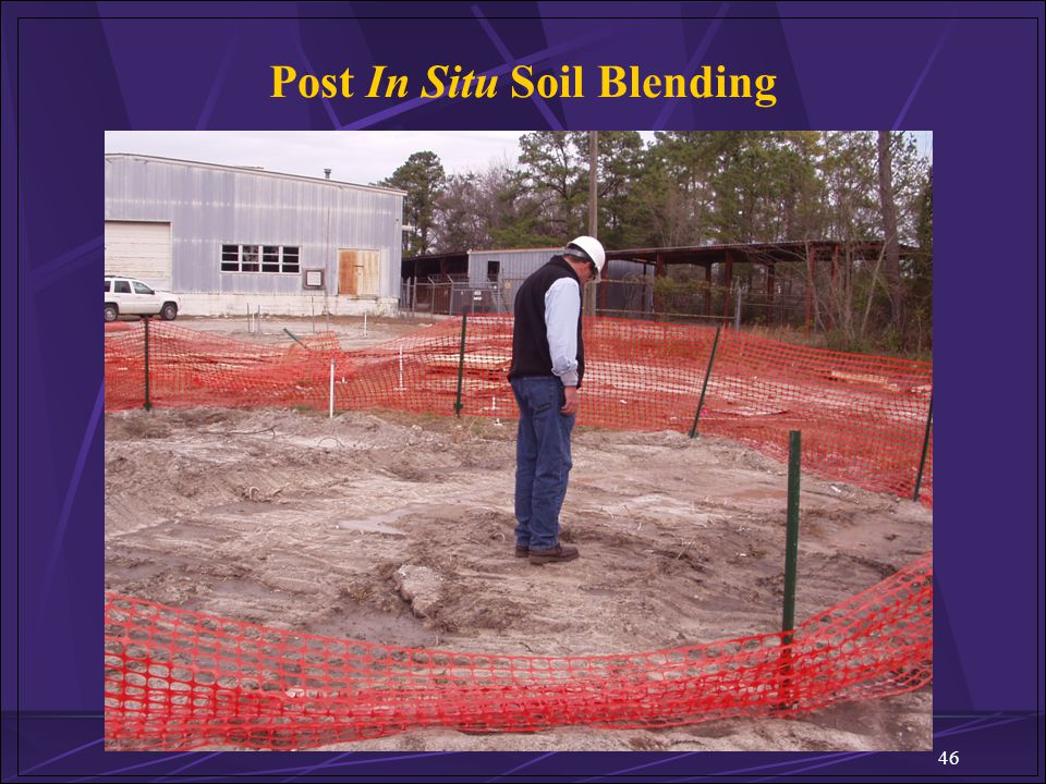 Post In Situ Soil Blending