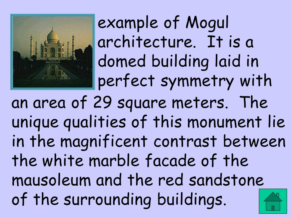 example of Mogul architecture