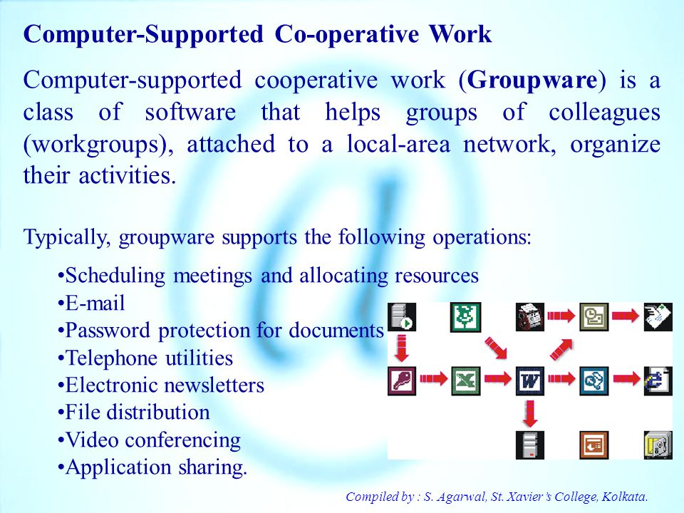Computer-Supported Co-operative Work