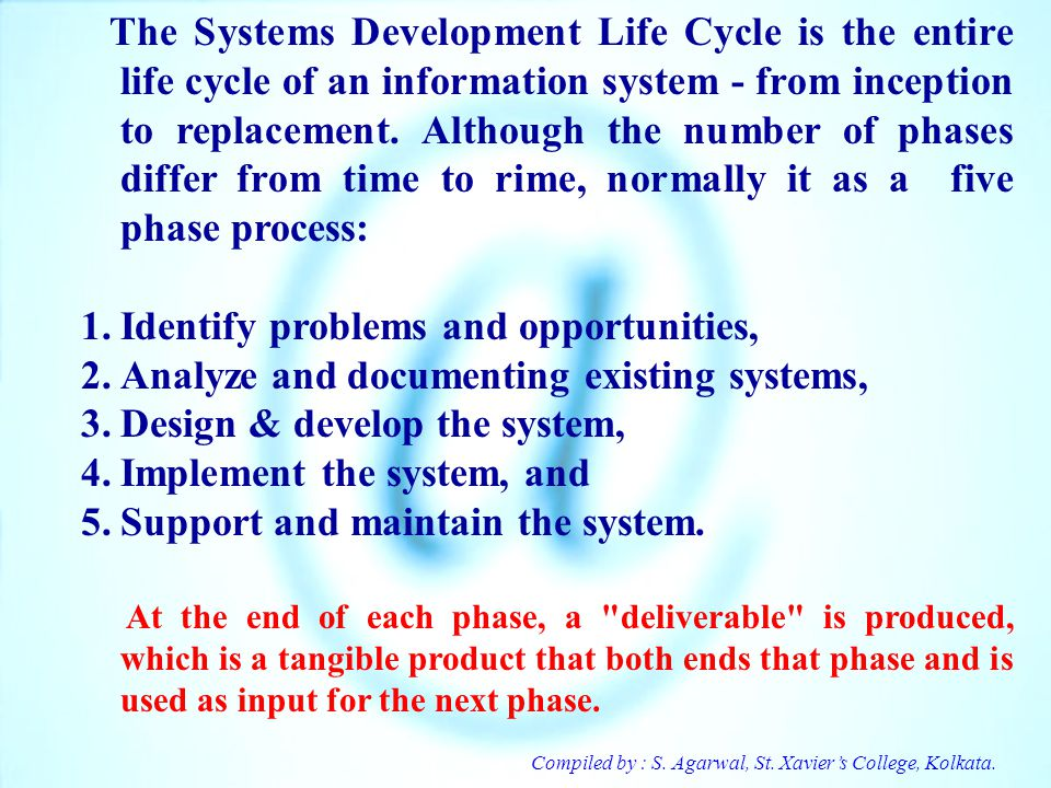 Identify problems and opportunities,