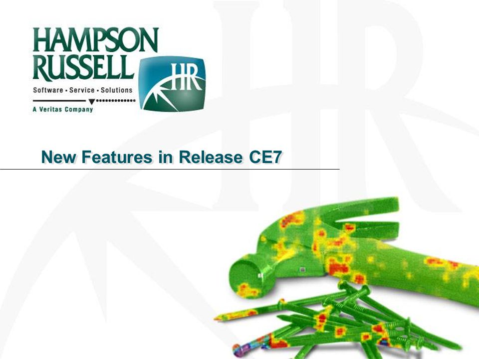 New Features in Release CE7