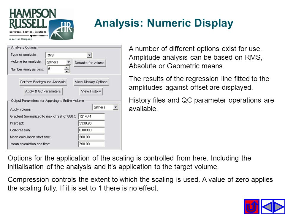 Analysis: Numeric Display