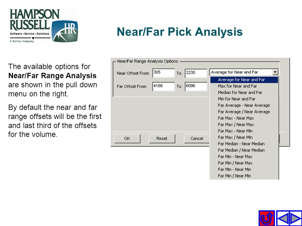Near/Far Pick Analysis