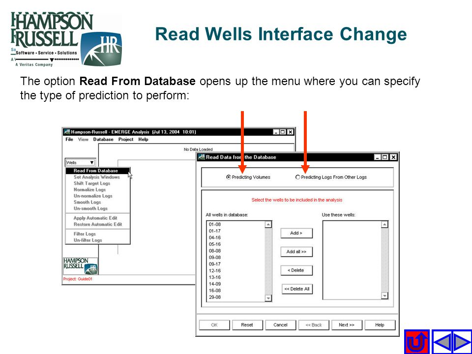 Read Wells Interface Change