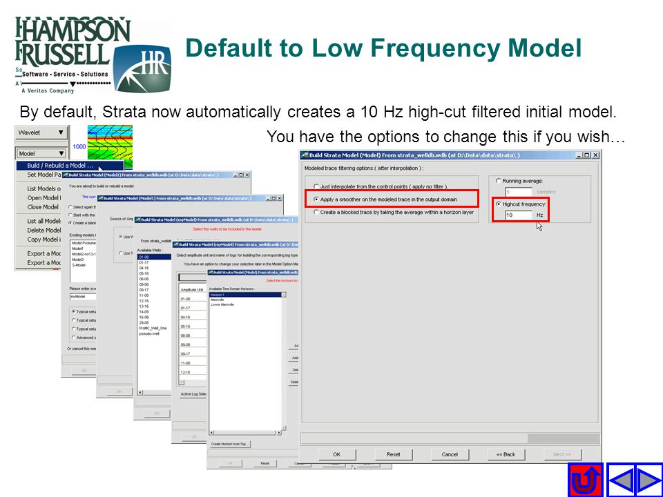 Default to Low Frequency Model