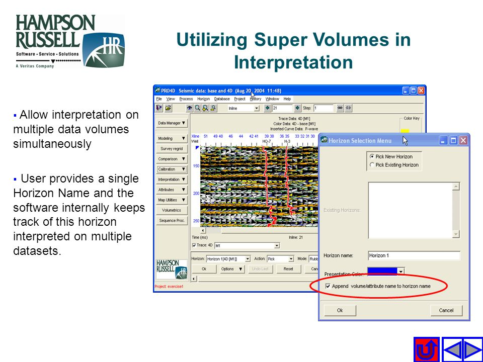 Utilizing Super Volumes in Interpretation