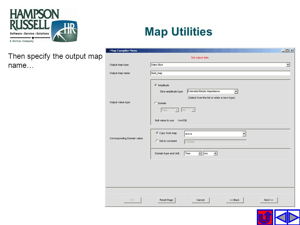 Map Utilities Then specify the output map name…
