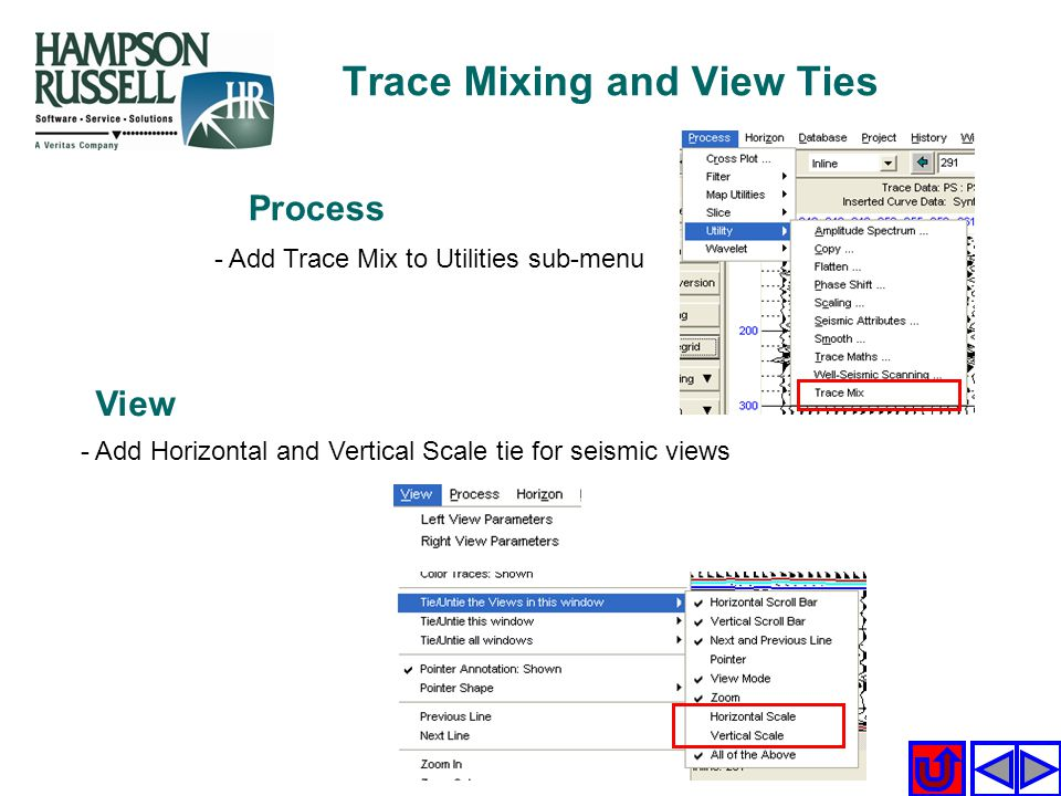 Trace Mixing and View Ties