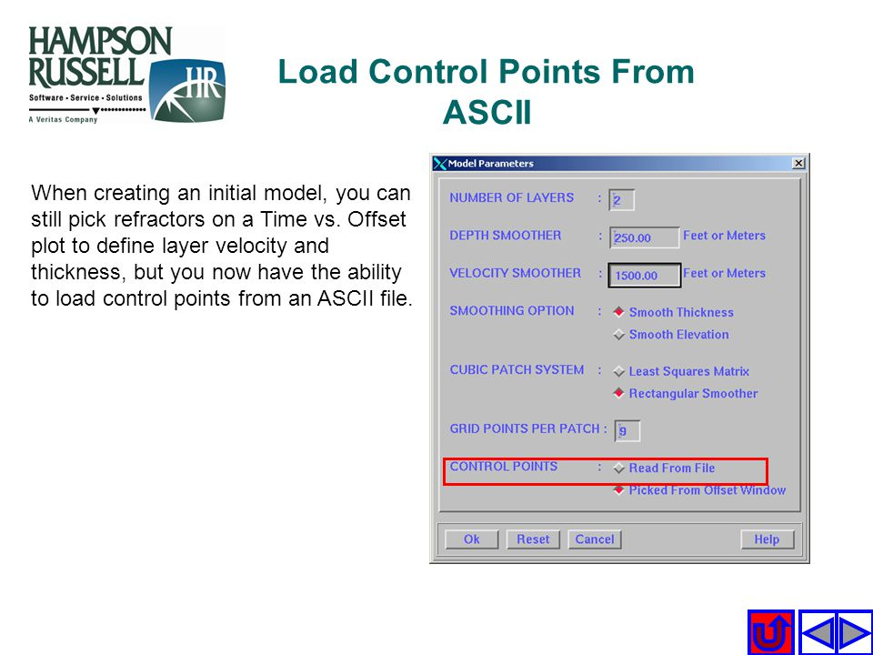Load Control Points From ASCII