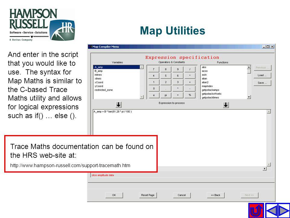 Map Utilities
