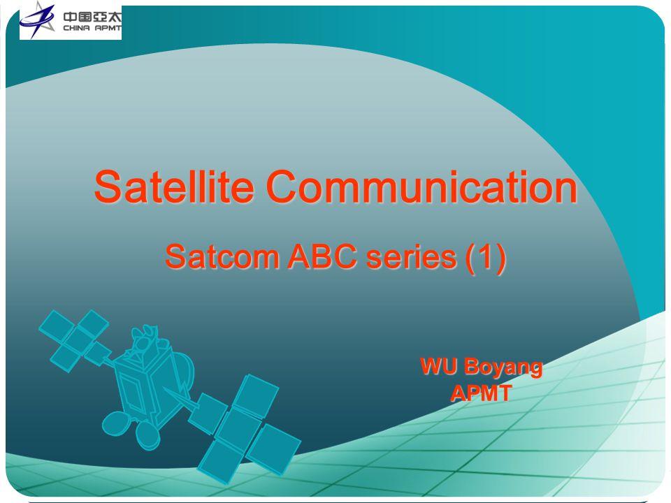 Satellite Communication Satcom ABC series (1)