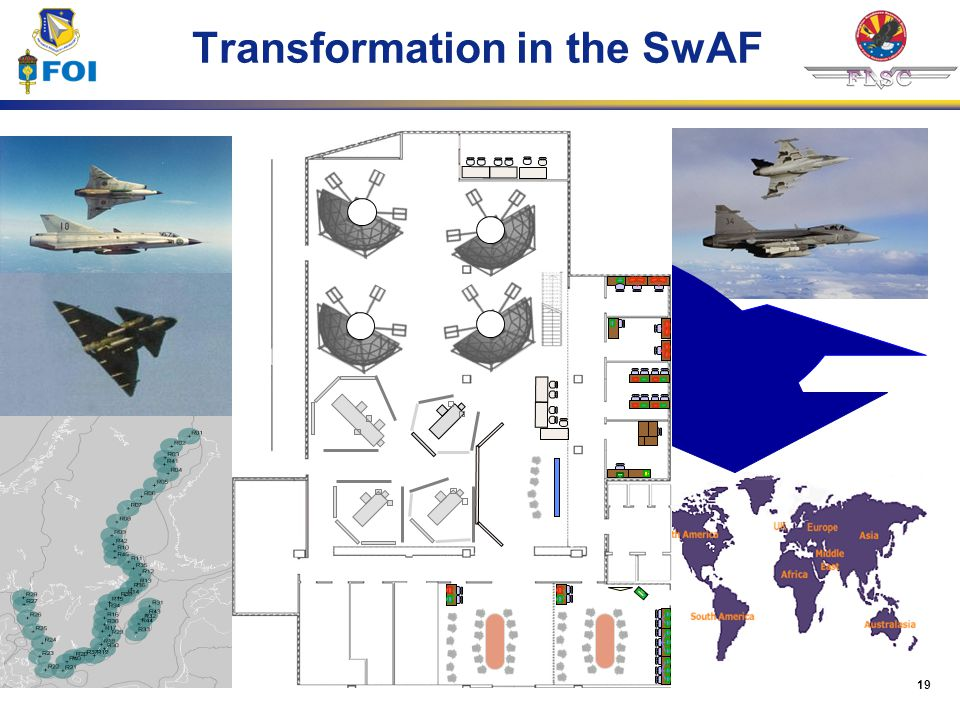 Transformation in the SwAF